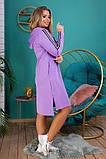 Платье - туника Размеры, 48,-50,52-54,56-58,60-62, фото 3