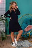 Платье - туника Размеры, 48,-50,52-54,56-58,60-62, фото 4