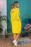 Платье - туника Размеры, 48,-50,52-54,56-58,60-62, фото 7