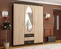 Прихожая Вита 1 Мебель Сервис венге / дуб сонома