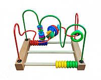 Деревянная развивающая игрушка для детей сортер игрушка MD 1241 (1241-3)