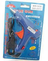 Пістолет для термоклея №0254 (діаметр 0,7 см, 20W, евровілка)