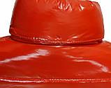 Підліткова червона куртка лакова, розміри 38-48, вик.червоний, фото 6