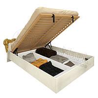 Кровать с мягким изголовьем и подъемным механизмом Виктория / Victoria MiroMark 160х200 радика беж
