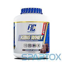 Протеин комплексный Ronnie Coleman King Whey (2,27 kg) Шоколадный Брауни