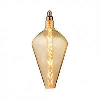 """Лампа филаментная LED """"PARADOX"""" 8W Horoz E27 (2400K) Amber."""