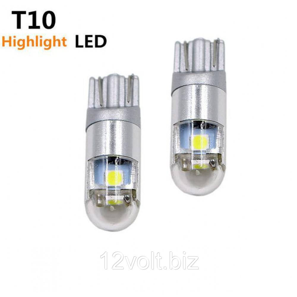 Габарит LED IDIAL 480 T10 3030 3SMD/300LM 1,5W 6000K 12V CANBUS бл. (2шт)