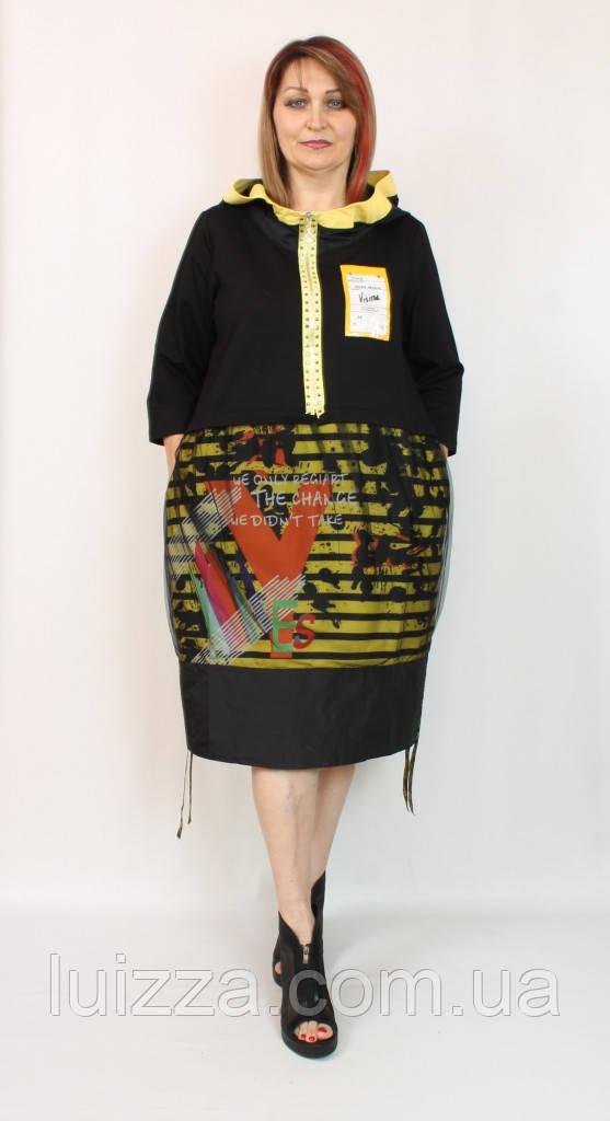 Женское турецкое платье Pompadur 52-58р