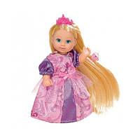 Кукла Эви с длинными волосами и аксессуарами 3 вида