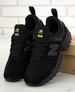 Мужские кроссовки New Balance 574 Sport v2 Black, нью беленс черные
