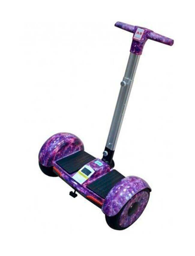 Гироскутер мини-сигвеи Smart Balance А8, Цвет Фиолетовый Космос