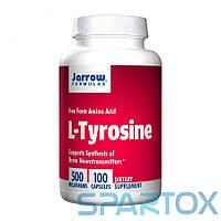 L-Тирозин незаменимая аминокислота Jarrow Formulas L-Tyrosine 500 mg (100 caps)