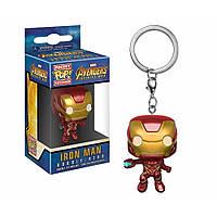 Фигурка-брелок Funko Pop Marvel Iron Man Марвел Железный человек Kidi Trinket M IM