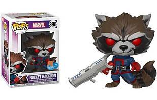 Фигурка Funko Pop Фанко Поп Марвел Marvel Rocky Raccoon  Реактивный Енот(PX Exclusive) 10 см M RR 396