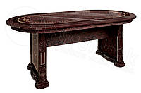 Стол обеденный (раскладной) Чикаго / Chicago MiroMark перо рубино