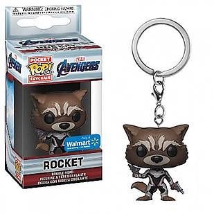 Фигурка брелок Funko Pop Guardians of the Galaxy Rocket Стражи Галактики Реактивный Енот 4 см Trinket GG R