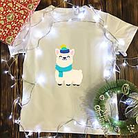 Мужская футболка с принтом - Ламма