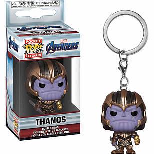 Фигурка брелок Funko Pop Мстители  Танос Фанко Поп Avengers: Infinity War  Thanos 4 см Trinket A IW T
