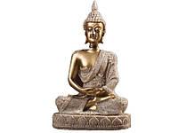 Статуэтка в виде сидящего Будды  Золотой