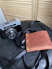 """Кожаный кошелек ручной работы """"Ковбой"""", фото 2"""