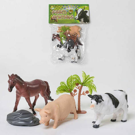 Набор домашних животных NC 2-012 АВ (216/2) в кульке, фото 2