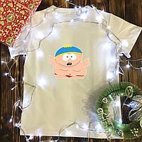 Мужская футболка с принтом - Эрик Картман