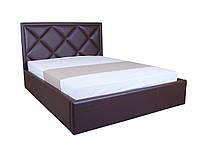 Кровать с мягким изголовьем и подъемным механизмом Доминика MELBI 160х200