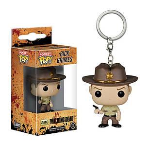 Фигуркабрелок Funko Pop Ходячие мертвецы Рик ГраймсThe Walking Dead Rick Grimes 4 см  WD RG 13