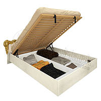 Кровать с мягким изголовьем и подъемным механизмом Виктория / Victoria MiroMark 180х200 радика беж