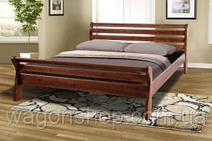 Кровать двухспальная Вояж Юта (массив ольхи) 160х200