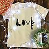 Мужская футболка с принтом - Люблю оружие