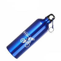 Фляга велосипедная DN BL-3 Blue алюминий, 750 мл.
