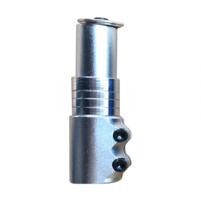 Удлинитель штока вилки велосипеда (1-1/8) GJB-012 серебро