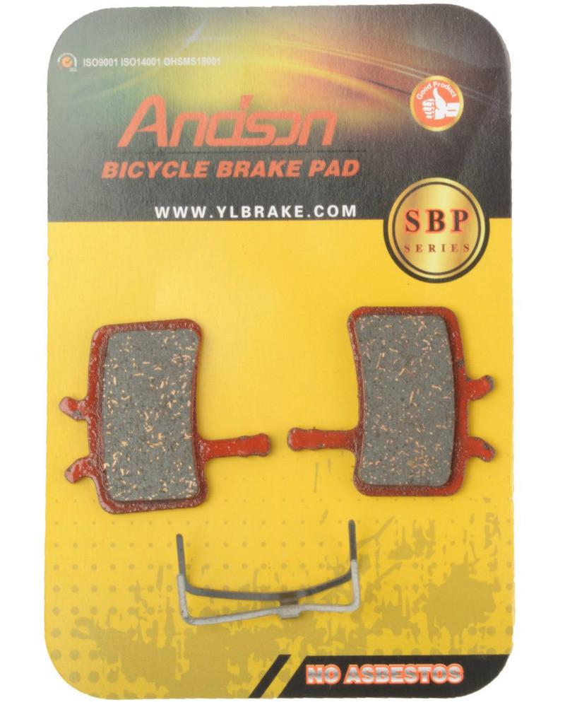 Колодки тормозные Andson SBP-1019 дисковые