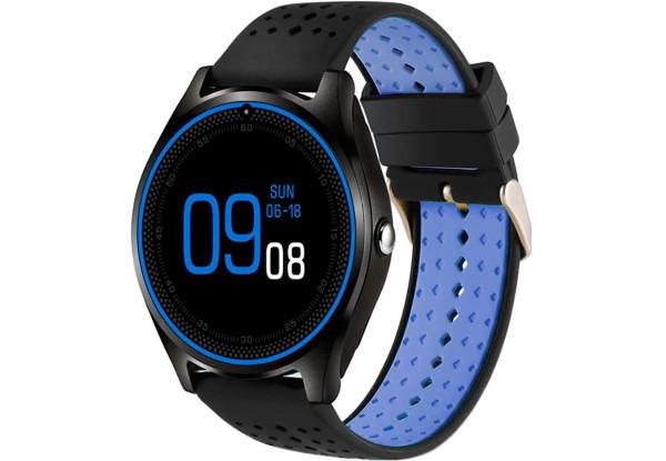 Умные часы UWatch V9 синий