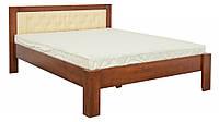 Кровать двухспальная Стронг Мебель Сервис 160х200 орех