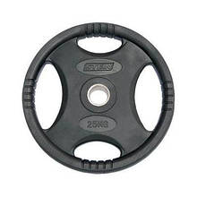 Диск Stein Rubber Black Plate 25 кг