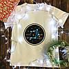 Мужская футболка с принтом - Весы
