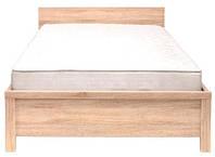 Кровать односпальная LOZ 90 Каспиан / Kaspian BRW 90х200 дуб сонома