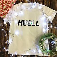 Мужская футболка с принтом - Huslle Money