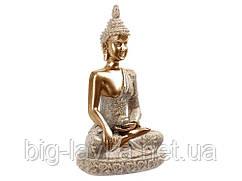 Статуетка Сидить Будда Золотий