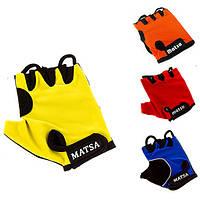 Перчатки для фитнеса,велоспорта Matsa (реплика) MT-1000
