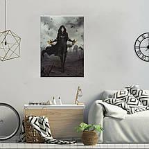 """Постер """"Йенифер"""". Ведьмак, Witcher. Размер 60x42см (A2). Глянцевая бумага, фото 2"""