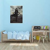 """Постер """"Йенифер"""". Ведьмак, Witcher. Размер 60x42см (A2). Глянцевая бумага, фото 3"""