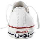 Кеды Converse All Stars Optical White Low M7652 (белые), фото 5
