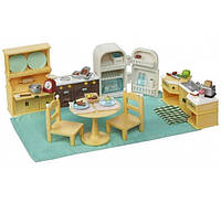 Sylvanian Families Набор мебели кухня Calico Critters