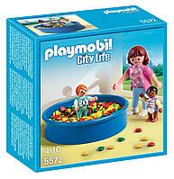 PLAYMOBIL 5572 Детский сад Игровая площадка с шариками