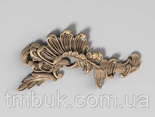 Угловой декор 9 резные уголки - 120х60 мм, фото 2
