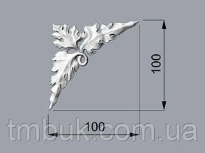 Угловой декор 5 накладной - 100х100 мм, фото 2