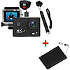 Экшн-камера 2Life B5R с моноподом и пультом Black + УМБ 2Life Power Bank 2500 mAh Black (nr1-363)